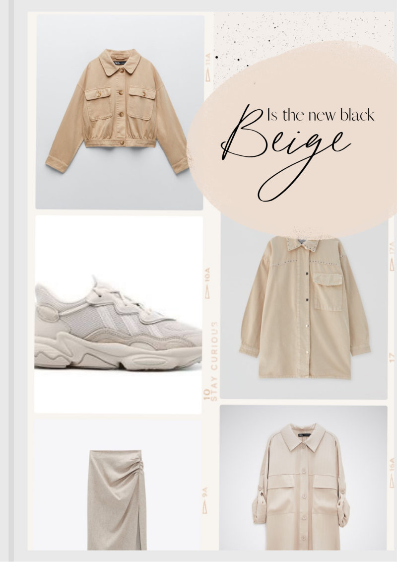 Beige is the new black !